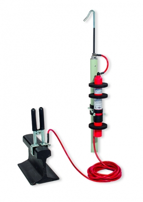 Voltage detector 3 kVdc to be used with sectioning and maneuvering insulating sticks - 1